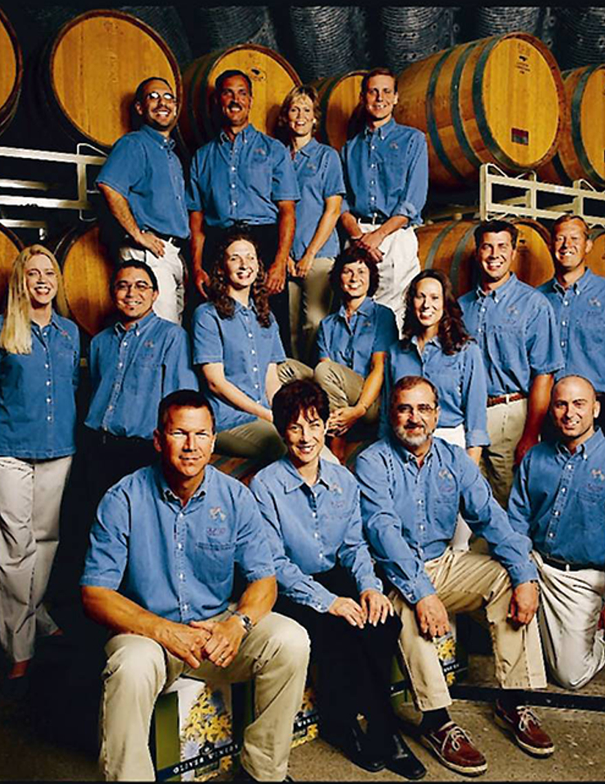 Winery growth throughout the '90s.