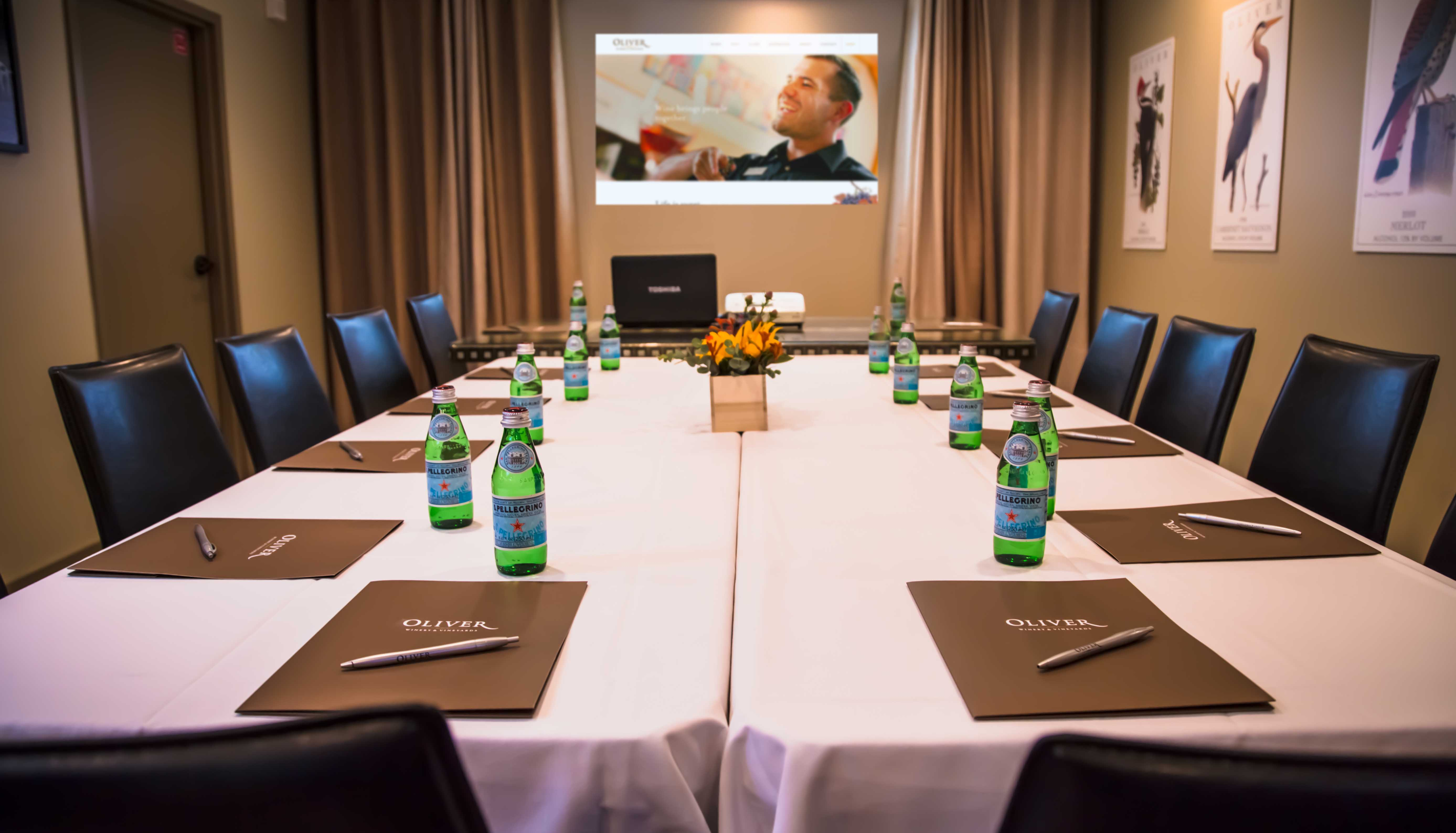 A great option for corporate meetings.