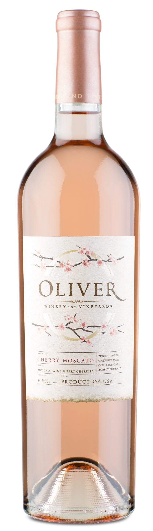 Oliver Winery Vine Series Cherry Moscato Wine