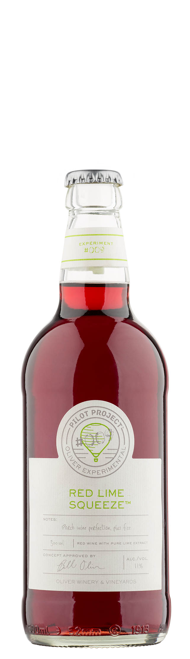 Oliver Red Lime Squeeze - Fruity Concord Wine