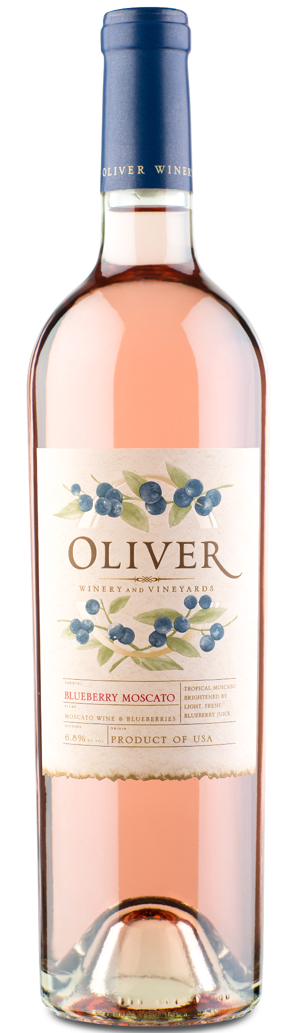 Oliver Winery Vine Series Blueberry Moscato Wine